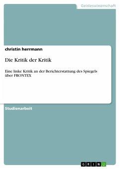 Die Kritik der Kritik - Herrmann, Christin