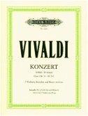 Konzert für 2 Violinen, Streicher und Basso continuo d-moll op. 3 Nr. 11 RV 565 (aus