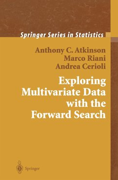 Exploring Multivariate Data with the Forward Search - Atkinson, Anthony C.; Riani, Marco; Cerioli, Andrea