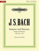 Sonaten und Partiten BWV 1001-1006, für Violine solo
