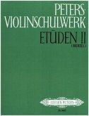 Peters-Violinschulwerk: Etüden