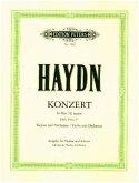 Konzert für Violine und Orchester G-Dur Hob. VIIa: 4 (Ausgabe für Violine und Klavier - Kadenzen vom Herausgeber)