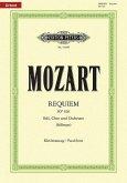 Requiem d-Moll KV 626 (Black), Klavierauszug