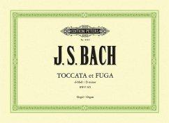 Toccata und Fuge d-Moll BWV 565, für Orgel - Bach, Johann Sebastian
