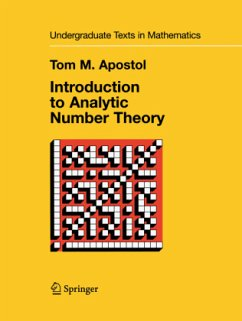 Introduction to Analytic Number Theory - Apostol, Tom M.