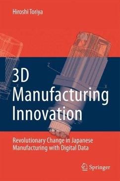 3D Manufacturing Innovation - Toriya, Hiroshi