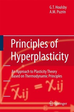 Principles of Hyperplasticity - Houlsby, Guy T.; Puzrin, Alexander M.