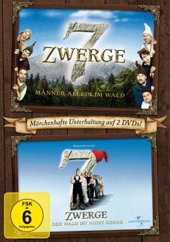 7 Zwerge - Männer allein im Wald, 7 Zwerge - Der Wald ist nicht genug - Otto Waalkes,Cosma Shiva Hagen,Heinz Hoenig
