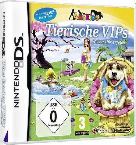 Tierische VIPs - Wellness für 4 Pfoten (Nintendo DS)