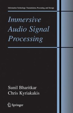Immersive Audio Signal Processing - Bharitkar, Sunil;Kyriakakis, Chris