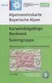 Alpenvereinskarte Karwendelgebirge Nordwest, Soierngruppe