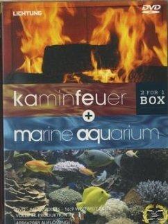 Kaminfeuer + Marine Aquarium (2 Discs)