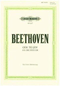 An die Freude -Finalsatz der Sinfonie Nr. 9 d-Moll op. 125- - Beethoven, Ludwig van