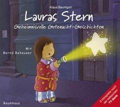Geheimnisvolle Gutenacht-Geschichten / Lauras Stern Gutenacht-Geschichten Bd.7 (Audio-CD) - Baumgart, Klaus; Neudert, Cornelia