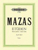 Etüden - Etudes spéciales, op. 36, Violine