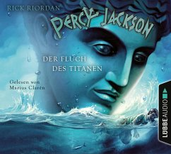 Der Fluch des Titanen / Percy Jackson Bd.3 (4 Audio-CDs) - Riordan, Rick