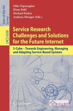 Service Research Challenges and Solutions for the Future Internet
