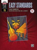 Alfred Jazz Easy Play-Along Series - Easy Standards, m. MP3-CD
