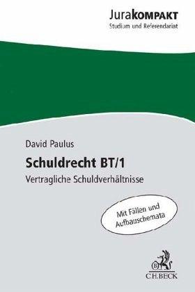 Schuldrecht Bt1 Von David Paulus Fachbuch Bücherde