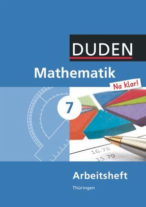 Mathematik Na klar! 7 Arbeitsheft Thüringen