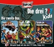 Die drei ???-Kids - Die 2. Box, 3 Audio-CDs - Blanck, Ulf
