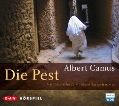 Die Pest, 2 Audio-CDs - Camus, Albert