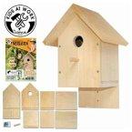 Corvus A 600 520 - Kids at work: Nistkasten, Bausatz aus Holz