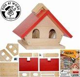 Corvus A600525 - Vogelhaus Futterplatz, Bausatz aus Holz