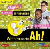 GENIAh!L - Phänomenale Erfindungen mit Shary und Ralph / Wissen macht Ah! Bd.1 1 Audio-CD