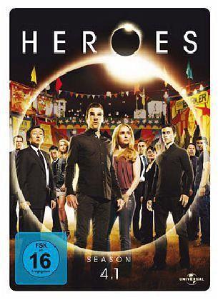 Heroes - Season 4.1 (3 Discs, Steelbook)