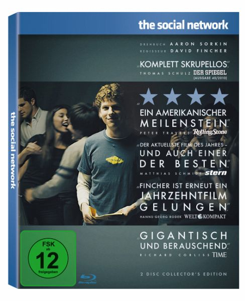 The Social Network (Collector's Edition, 2 Discs)