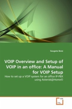 VOIP Overview and Setup of VOIP in an office: A Manual for VOIP Setup