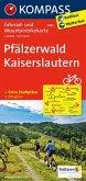 KOMPASS Fahrradkarte Pfälzerwald - Kaiserslautern / Kompass Fahrradkarten