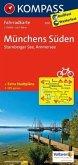 KOMPASS Fahrradkarte Münchens Süden - Starnberger See - Ammersee / Kompass Fahrradkarten