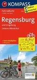 Kompass Fahrradkarte Regensburg und Umgebung / Kompass Fahrradkarten