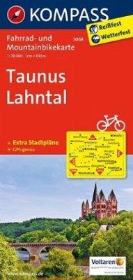 Kompass Fahrradkarte Taunus, Lahntal / Kompass ...