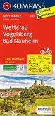 Kompass Fahrradkarte Wetterau,Vogelsberg, Bad Nauheim / Kompass Fahrradkarten