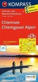 Kompass Fahrradkarte Chiemsee, Chiemgauer Alpen / Kompass Fahrradkarten