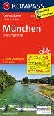 Kompass Fahrradkarte München und Umgebung / Kompass Fahrradkarten