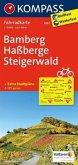 Kompass Fahrradkarte Bamberg, Haßberge, Steigerwald / Kompass Fahrradkarten