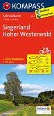 Kompass Fahrradkarte Siegerland, Hoher Westerwald / Kompass Fahrradkarten