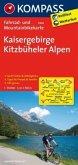 Kompass Fahrradkarte Kaisergebirge, Kitzbüheler Alpen / Kompass Fahrradkarten