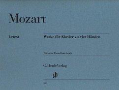 Werke für Klavier zu vier Händen - Mozart, Wolfgang Amadeus - Werke für Klavier zu vier Händen