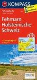 Kompass Fahrradkarte Fehmarn, Holsteinische Schweiz / Kompass Fahrradkarten