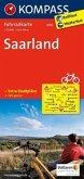 Kompass Fahrradkarte Saarland