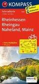 Kompass Fahrradkarte Rheinhessen, Rheingau, Naheland, Mainz / Kompass Fahrradkarten