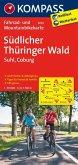 Kompass Fahrradkarte Südlicher Thüringer Wald / Kompass Fahrradkarten
