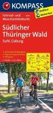 KOMPASS Fahrradkarte Südlicher Thüringer Wald - Suhl - Coburg / Kompass Fahrradkarten