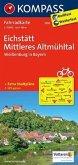 Kompass Fahrradkarte Eichstätt, Mittleres Altmühltal / Kompass Fahrradkarten