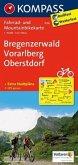 Kompass Fahrradkarte Bregenzerwald - Vorarlberg - Oberstdorf / Kompass Fahrradkarten